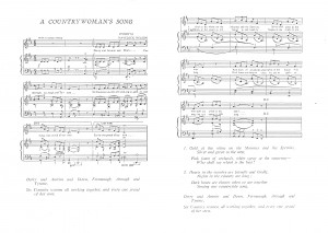 The Countrywoman's Song