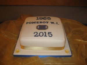 Cake baked by Ranfurly Area Executive Member, Beth Irwin